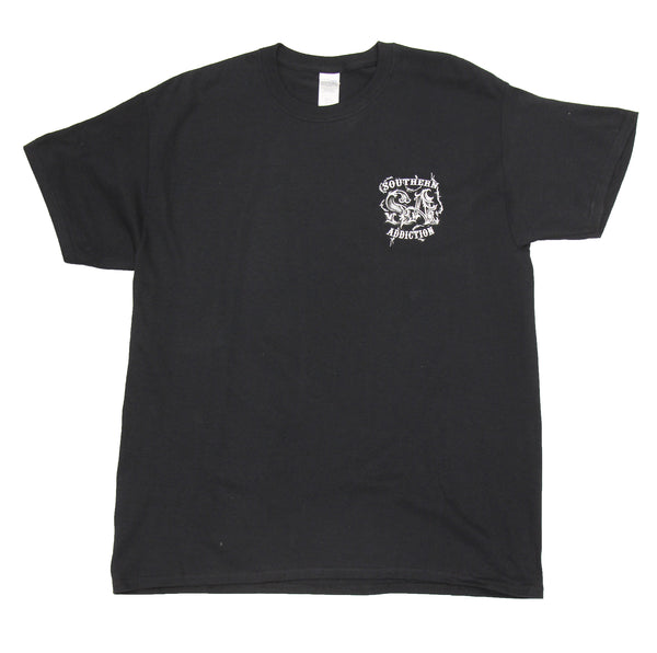 6181 - Southern Addiction Firefighter...Even Cops Need Heroes T Shirt