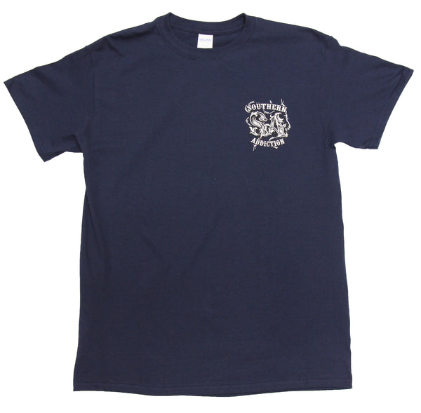 6158 - Southern Addiction Stand for the Flag T Shirt
