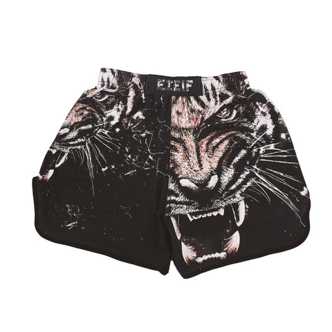 SHORT MMA Black Fighting Tiger
