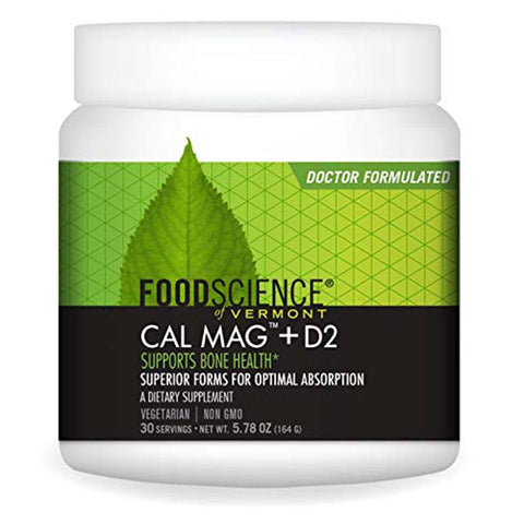Cal Mag + D2 Supports Bone Health