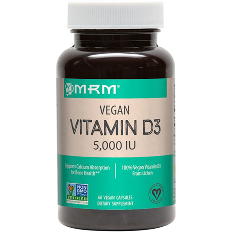 Vegan Vitamin D3 5000 IU From Lichen