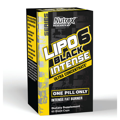 LIPO-6 BLACK INTENSE Ultra Concentrate - 60 Cápsulas