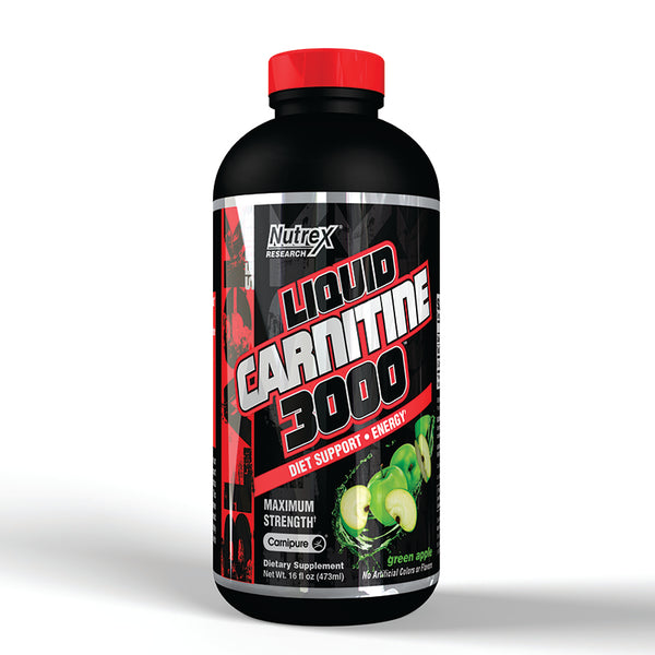 Liquid Carnitine 3000 - Green Apple
