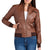 Women Bomber Leather Jackets: Bendy