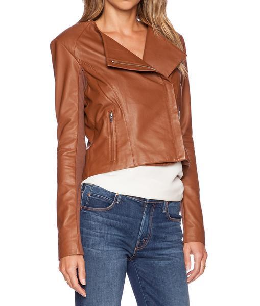 Brooze Women Biker Leather Jackets