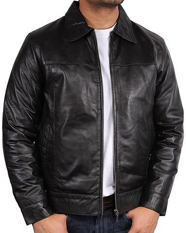Men Harrington Classic Leather Jackets