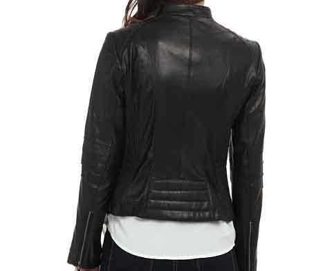 Super Henzy Women Classic Leather Jackets