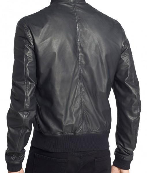 Jetblack Mens Bomber Leather Jackets