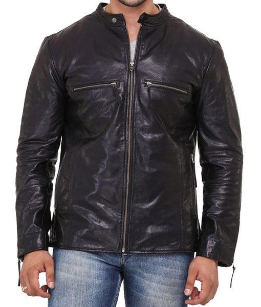 Super Kisher Men Classic Leather Jackets