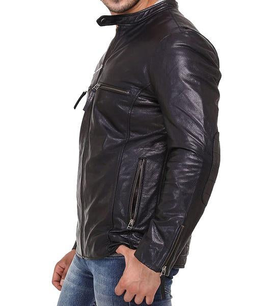Kisher Men Classic Leather Jackets - Xosack