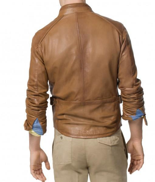 Marsh Men Classic Leather Jackets - Xosack
