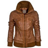 Super Mekkway Women Bomber Leather Jackets