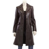 Merronish Women Leather Coats - Xosack