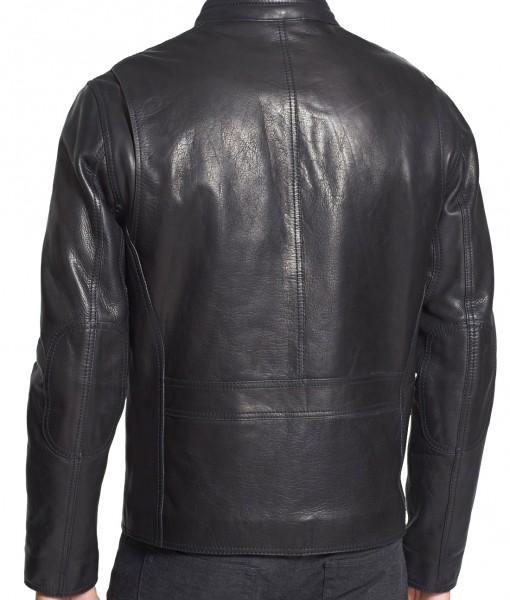 Obey Men Classic Leather Jackets