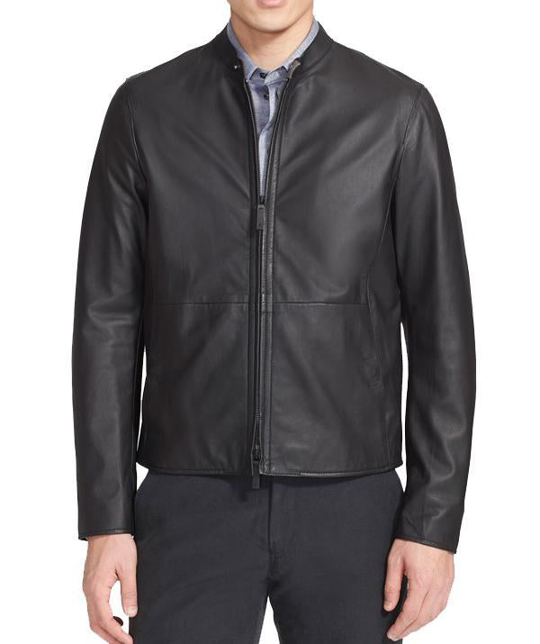 Simple Men Classic Leather Jackets