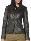 Super Slimy Women Leather Coats