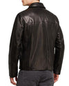 Smooth Men Classic Leather Jackets - Xosack