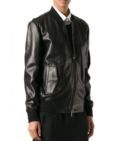 Super Wede Women Bomber Leather Jackets