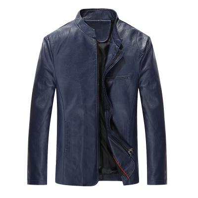 Plus Size New Fashion Men Faux Leather Jackets