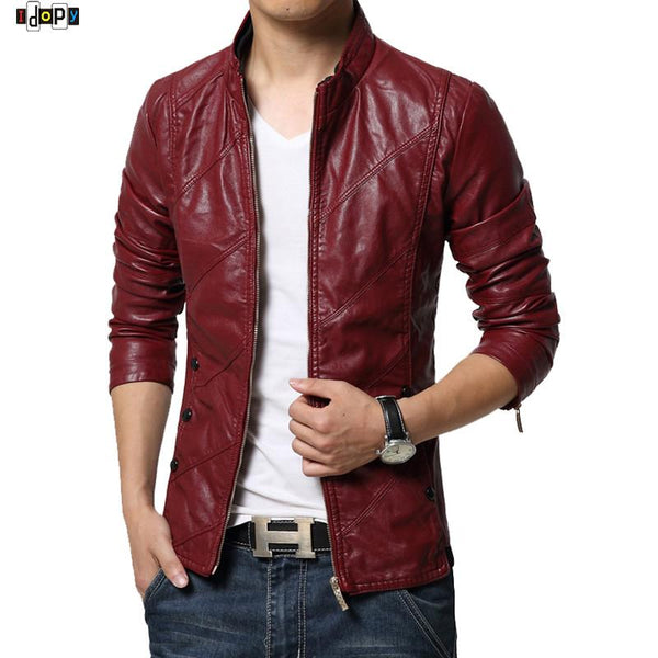 New Fashion PU Leather Jacket