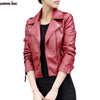 New Women Leather Jackets Vintage Fashion