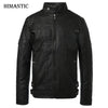 Motorcycle  Men Autumn Winter Leather Jackets