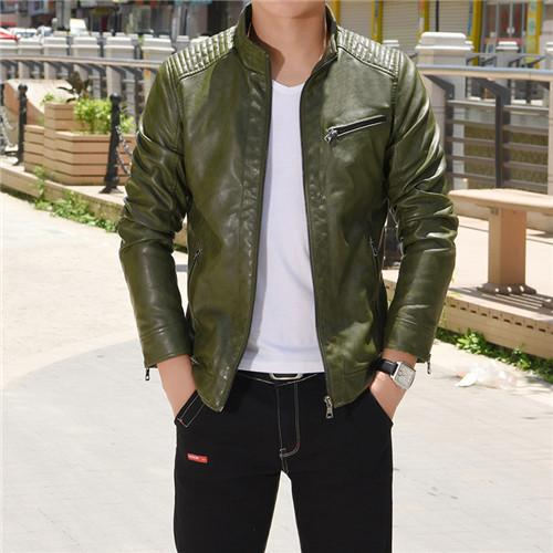 Autumn Winter Motorcycle Leather Jackets