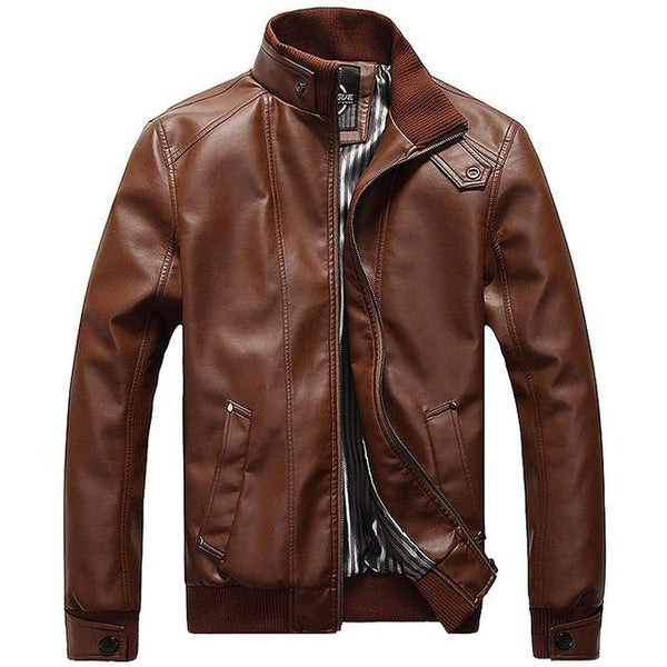 New Fashion Male Leather Jackets
