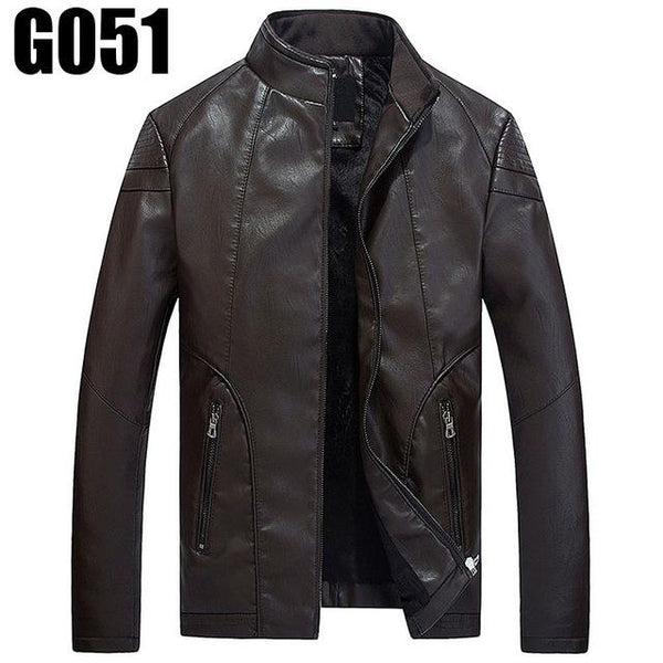 Fall Top Quality Boutique Brand Leather Jacket
