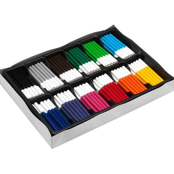 COLOURWORLD BROAD TIP MARKERS Box of 288