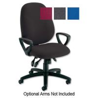 Initiative Maxi High Back Asynchronous Chair Charcoal 299701