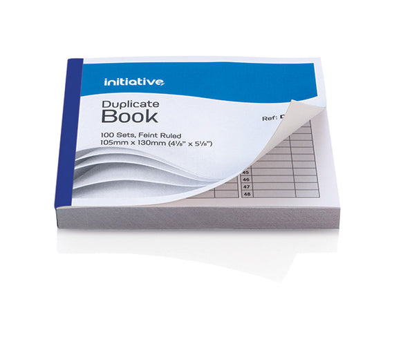 Initiative Duplicate Book 105mmx130mm