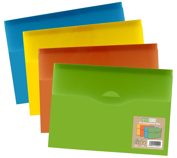 Eco-Eco A3 95% Recycled Presentation 4 D Rings Landscape Binder
