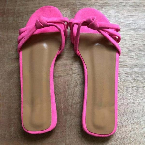 Summer Plain Casual Slippers