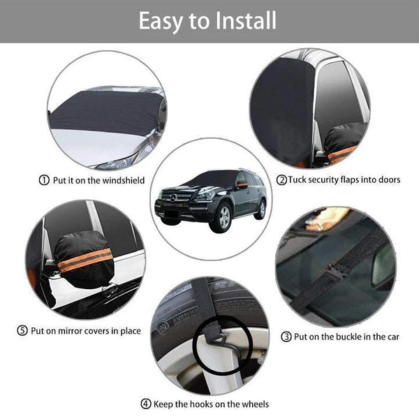 Windshield Cover Car Snow Ice Protector Visor