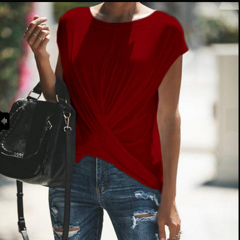 Casual Pure Clor T-Shirt