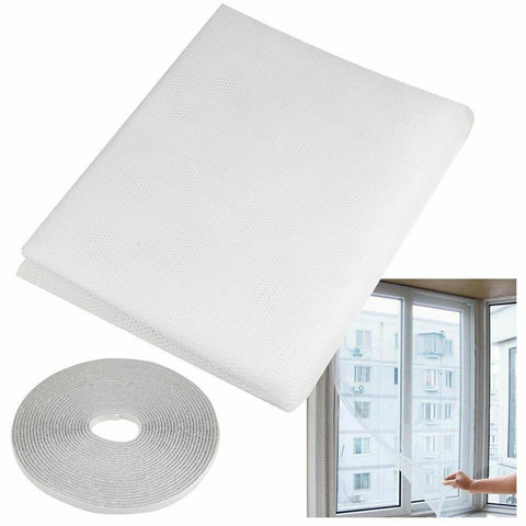 Flying Curtain Insect Netting Mesh Self-adhesive Mosquito Net Window Window Screen Anti-mosquito Door Fly Nets