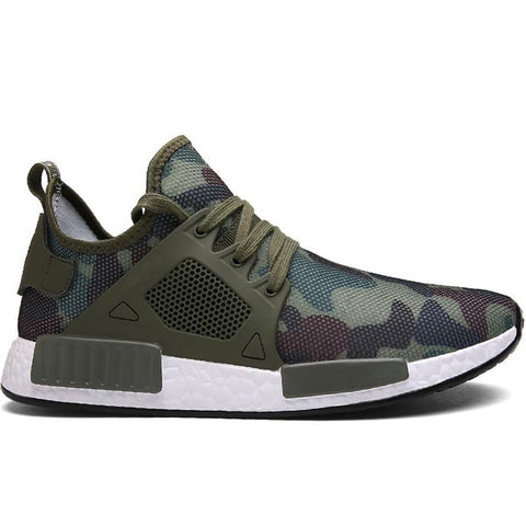 Plus Size Outdoor Military Camouflage Women's Sneakers