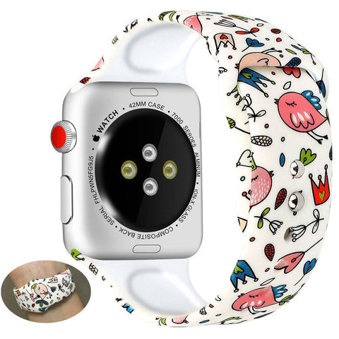 Apple Watch Colorful Patterns Watchband