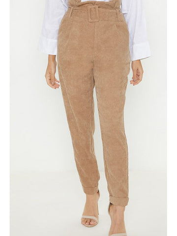 Long Casual Plain Pants