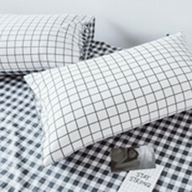 Cotton Pillowcase Plaid