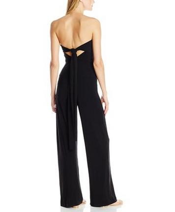 Halter Siamese Straight Big Trousers Jumpsuit