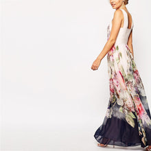 Load image into Gallery viewer, Long Printed Floral Maxi Dresses