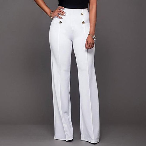 Fashion Casual Wide Leg Trousers Pants