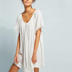 Bikini Blouse Seaside Sun Protection Shirt