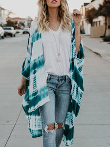 Ombre Loose Thin Cardigan For Women