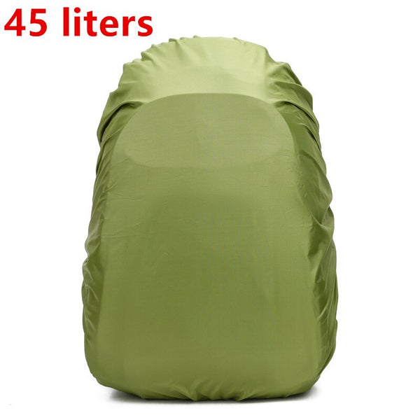 35 / 45L Adjustable Waterproof Dustproof Backpack Rain Cover Portable Ultralight Shoulder Protect Outdoor tools Hiking