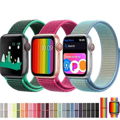 Apple Watch Cool Sport Loop Watchband Strap