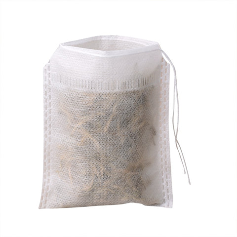 400Pcs/Lot Lot Tea Bag S 6 X 8Cm Empty Scented Tea Bags With String Heal Seal Filter Paper For Herb Loose Tea Bolsas De Te