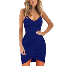 Load image into Gallery viewer, Spaghetti Strap Sleeveless Bodycon Dresses